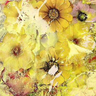 Pierre Ziegler | Zoole | Paintings | Flowerz | Yello I
