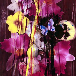 Pierre Ziegler | Zoole | Paintings | Flowerz | Purple