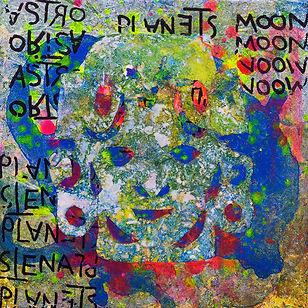 Pierre Ziegler | Zoole | Paintings | Moon rap page 02 | Ghost on plnet Mu