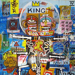 Pierre Ziegler | Zoole | Paintings | Moon rap page 03 | King IV