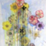 Pierre Ziegler   Zoole   Paintings   Flowerz   White II