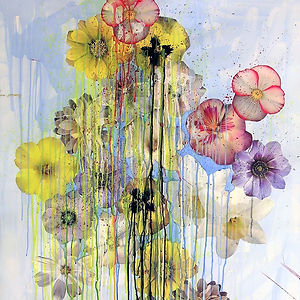 Pierre Ziegler | Zoole | Paintings | Flowerz | White II