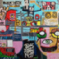 Pierre Ziegler | Zoole | Paintings | Moon rap page 03 | King bling