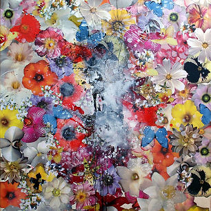 Pierre Ziegler | Zoole | Paintings | Flowerz | White III