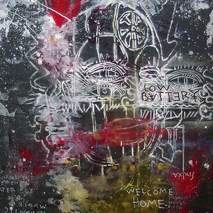 Pierre Ziegler   Zoole   French atist   Contemporary painting   Welcome home