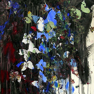 Pierre Ziegler | Zoole | Paintings | Flowerz | Black IV