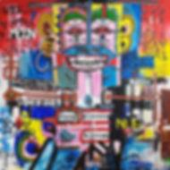 Pierre Ziegler | Zoole | Paintings | Moon rap page 03 | Le maître vaudou