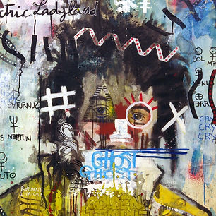 Pierre Ziegler | Zoole | French atist | Contemporary painting | Ground Zero | The radiant ghost