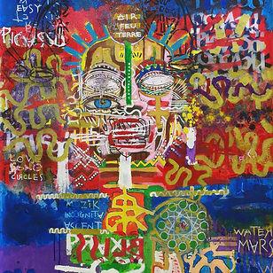 Pierre Ziegler | Zoole | Paintings | Moon rap Alpha | Picasssö
