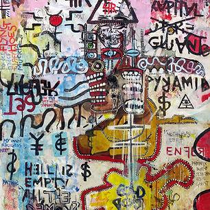 Pierre Ziegler | Zoole | French atist | Contemporary painting | Ground Zero | Kapital gluente