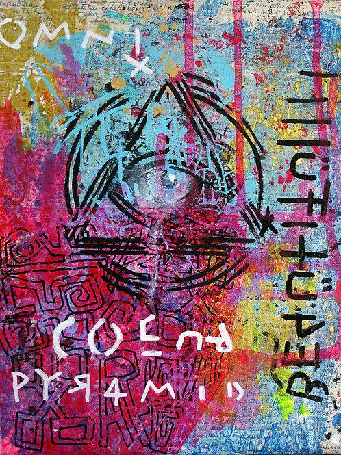 "Painting/Peinture ""Mascara"""