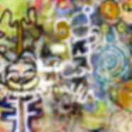 Pierre Ziegler | Zoole | Paintings | Moon rap page 04 | Guru yoga