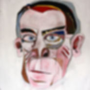 Zoole   Pierre Ziegler   Painting   Bruce Willis   zoole.org