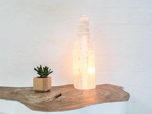 CRYSTAL SELENITE LAMP