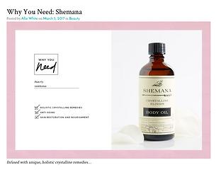 Shemana Crystalline Elixirs