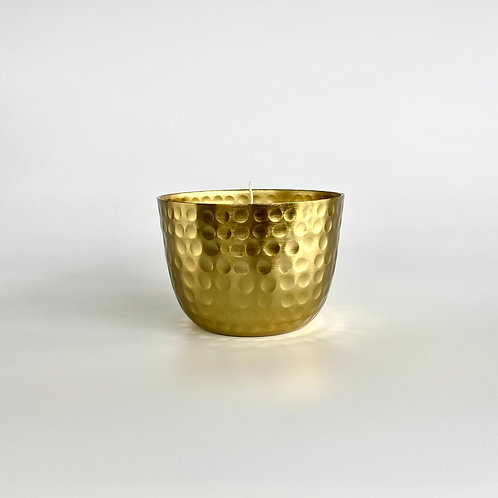 GOLD METAL CANDLE