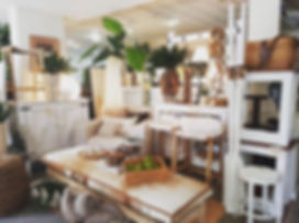 Beautiful neutrals in our shop-front win