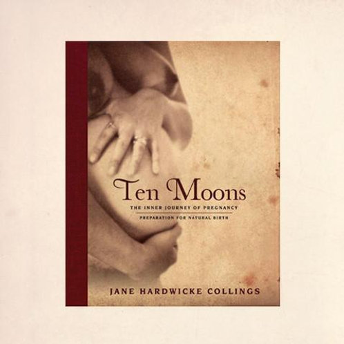 Ten Moons: The Inner Journey of Pregnancy - By Jane Hardwicke Collings