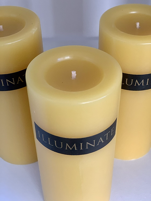 Pure Beeswax 40 Hour Candle