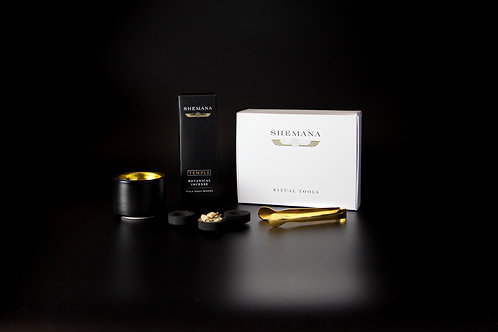 BLACK TEMPLE Incense Kit