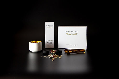 Bulk Pack - WHITE  MYSTIC Incense Kit