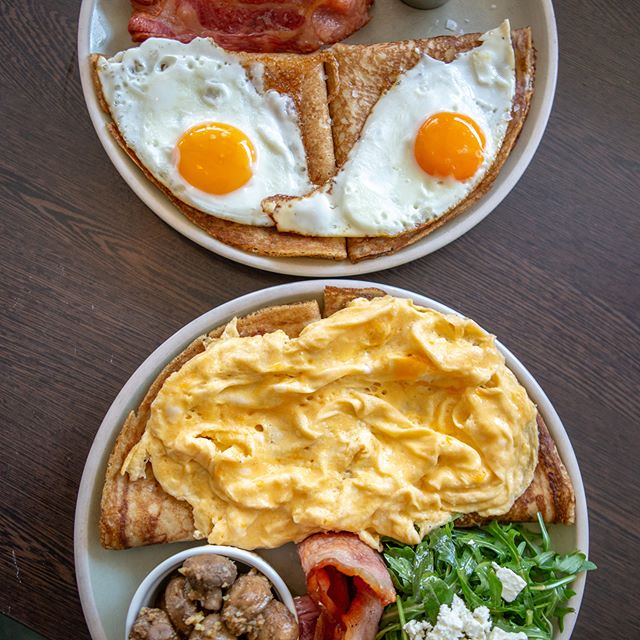 Eggs the way you like it on our famous p