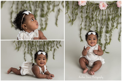 baby photography flowers  mandeville covington photographer