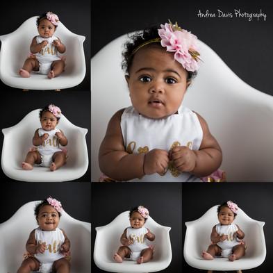 Baby photography milestone Covington Nola Mandeville photographer