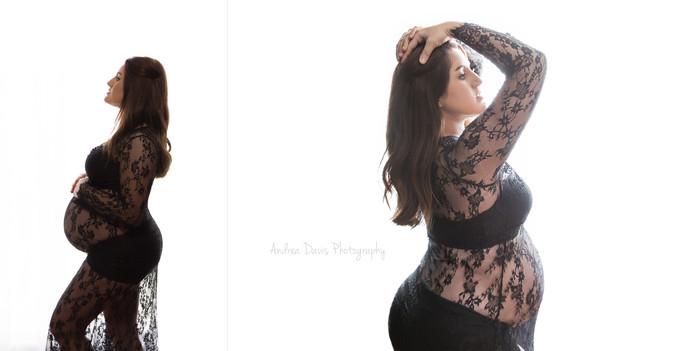 Studio maternity photography in covington louisiana
