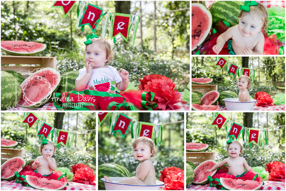 Smash Cake Session Andrea Davis photograhy Covington Mandeville NOLA Birthday photographer