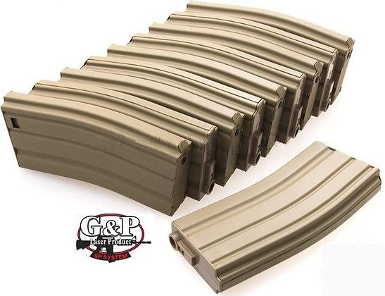 G & P M4 Midcap - Sand (10 pack)