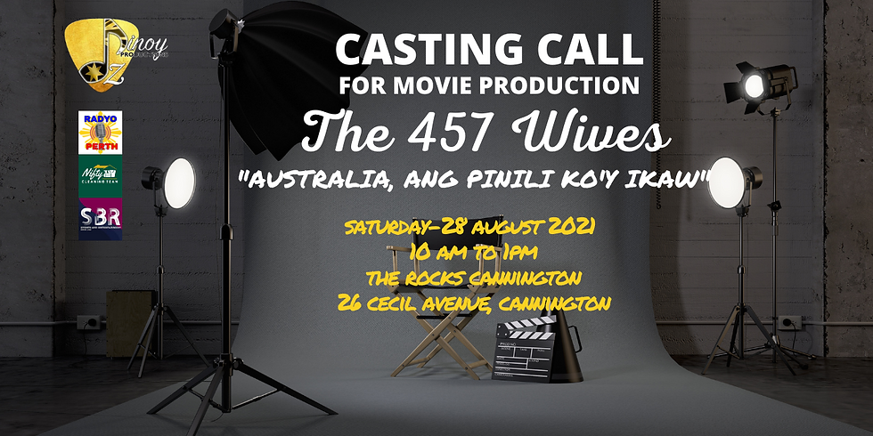 """CASTING CALL """"THE 457 WIVES"""" MOVIE PRODUCTION"""