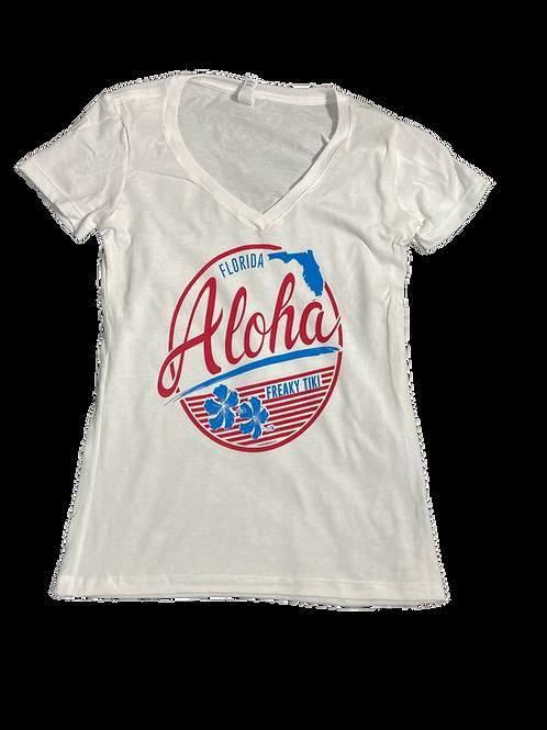United States of Aloha (V Neck)