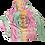 Thumbnail: Original Freaky Tiki Tie Dye Hoodie