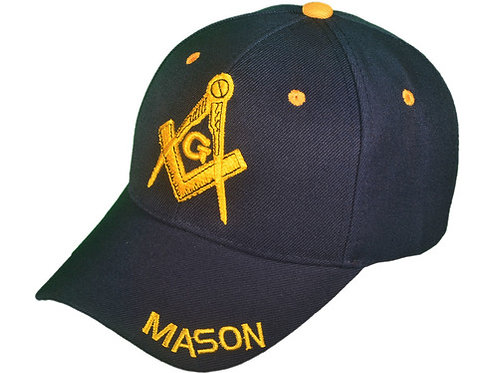 Masonic Hat - Gold Embroidery