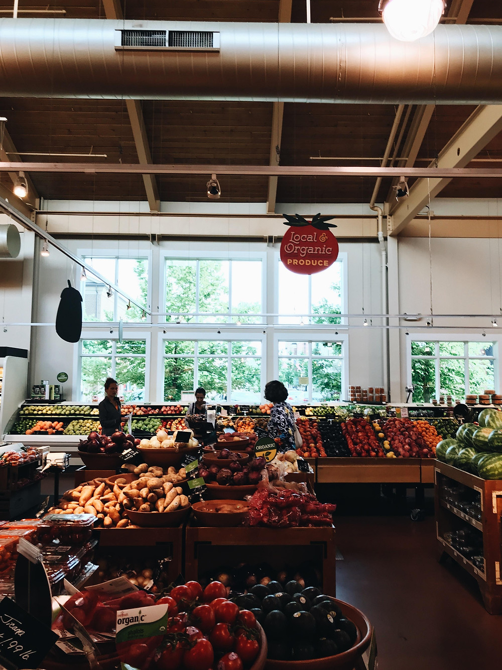 grocery store, grocery shopping, intuitive eating, mindfulness, mindful eating