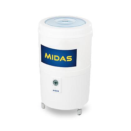 LAVARROPAS MIDAS REDONDA C/VAIVEN 5.5 KG MD-LV56RB CARGA SUPERIOR BLANCO