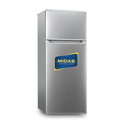HELADERA MIDAS INOX 300 LT 2P