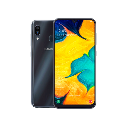 SAMSUNG GALAXY A20 DUOS 32 GB BLACK