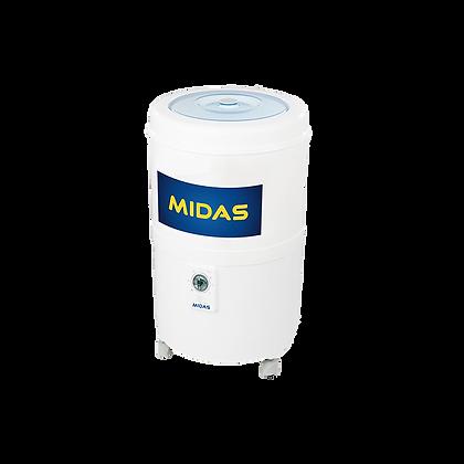 LAVARROPAS MIDAS REDONDA C/VAIVEN 5.5 KG MD-LV56RB CARGA SUPEROR BLANCO