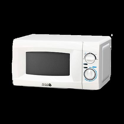 MICROONDAS JAM 20LTS. MOD. MM720CKE BLANCO C/ LUZ INTERNA 700W 230V/50HZ