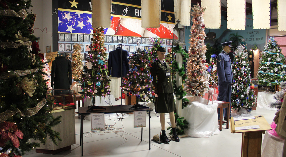 Central Exhibit Hall - Festival of Trees 2020
