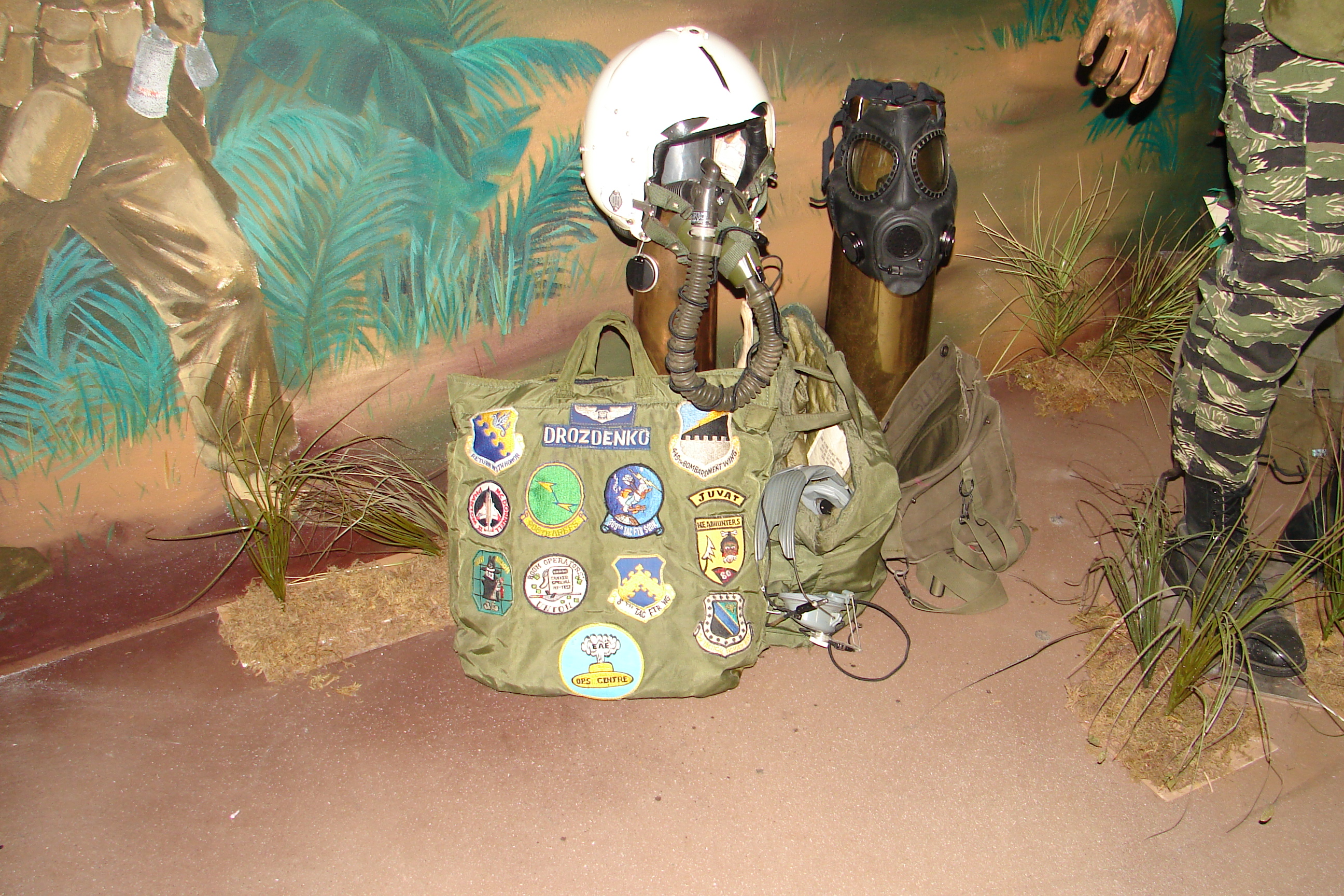 Vietnam era pilot's gear