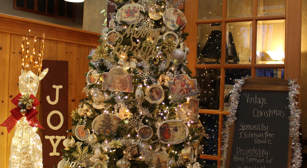 """Vintage Christmas"" -Festival of Trees 2020"