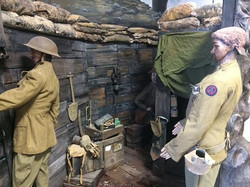 WWI trench fighting