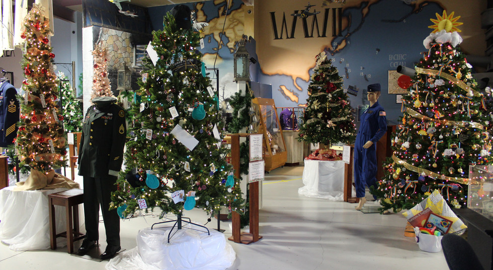 Festival of Trees Event Entrance 2020