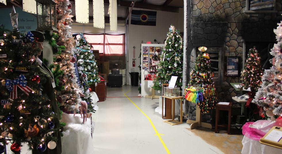 West Exhibit Hall - Festival of Trees 2020