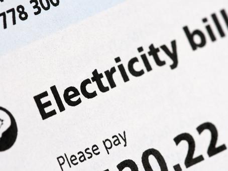 Energy bills in California. GoingUp. Up. UP!