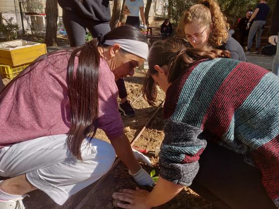 Volunteer Be'er-Sova Community Garden
