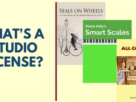 What's a Studio License?